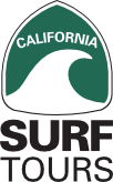 California Surf Tours logo